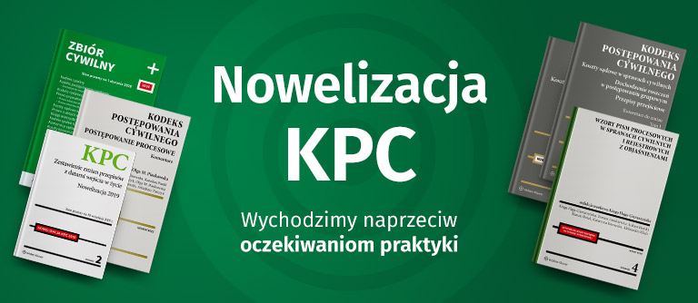 Nowelizacja KPC 2019